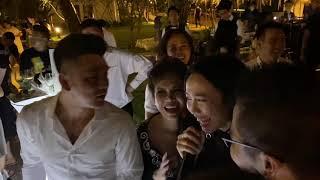 HOT!! Diệu Nhi siêu lầy trong đám cưới Đông Nhi và Ông Cao Tháng :))))))