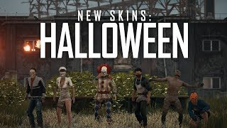 PUBG - New Skins: Halloween