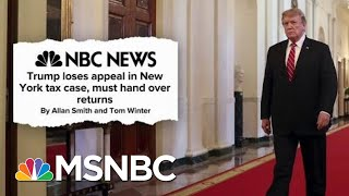 President Donald Trump Buried Under A Mountain Of Ongoing Legal Woes   Deadline   MSNBC