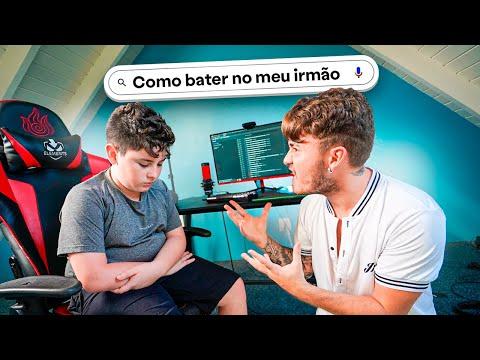INVADI O HISTÓRICO DO COMPUTADOR DO MEU IRMÃOZINHO E DESCOBRI COISAS...