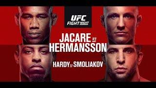 UFC On ESPN 3 Jacare v Hermansson Fight Breakdowns & Predictions