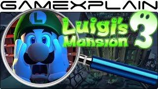 Luigi's Mansion 3 ANALYSIS - Reveal Trailer (Secrets & Easter Eggs)