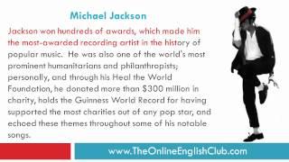 ESL Reading and Listening - Michael Jackson