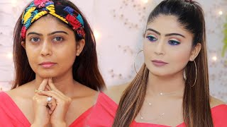 10 MINUTE Easy And Affordable PARTY Makeup Tutorial | Rinkal Soni