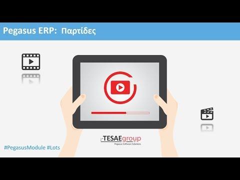 Pegasus ERP - Παρτίδες
