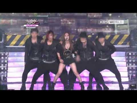 [Music Bank K-Chart] BoA - Only One (feat. Eunhyuk of SuperJunior) (2012.08.31)