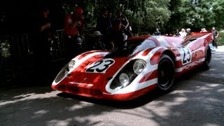 Porsche Le Mans Legends at the Goodwood Festival of Speed 2013