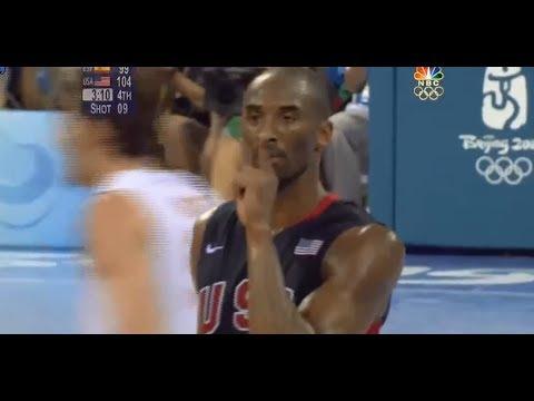 大家還記得Kobe在北京奧運這經典一幕嗎? 真的帥到翻~