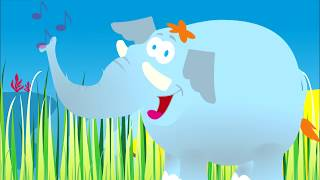 Elephant and trumpet - simple music  for children - YouTube