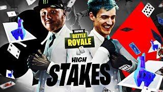 FORTNITE HIGH STAKES & NEW WILDCARD SKIN W/ NINJA!! | Fortnite Battle Royale Highlights #126