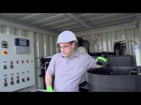 Units for Construction Water by ZÜBLIN Umwelttechnik: Neutra-Kompakt