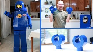 How to make an Awesome Lego Man Costume - (Hands) Lego Movie Benny