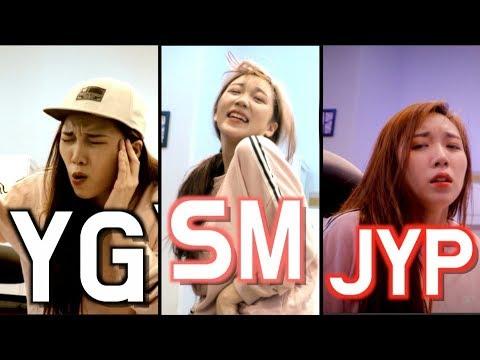 SM/YG/JYP 3대 기획사 모창 업그레이드🔥(the big 3 impressions)