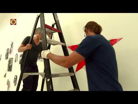 Erik van Lieshout bouwt aan tentoonstelling in Van Abbemuseum