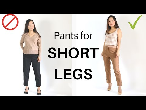 Video: 5 Best pants if you have short legs (like me)