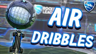 How To AIR DRIBBLE In Rocket League from Beginner To Advanced