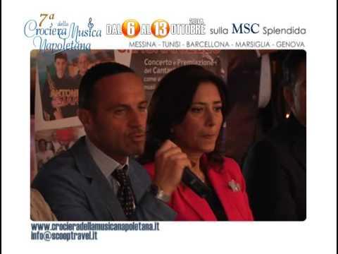 Conferenza Stampa di presentazione VII Crociera della Musica Napoletana - le interviste