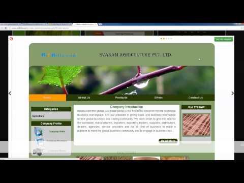 Free business membership in bizbilla