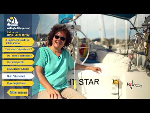 Sailing Holidays - RYA courses - Flotilla Sailing