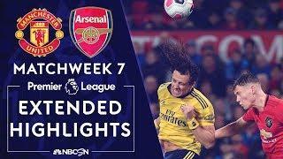 Manchester United v. Arsenal | PREMIER LEAGUE HIGHLIGHTS | 9/30/19 | NBC Sports