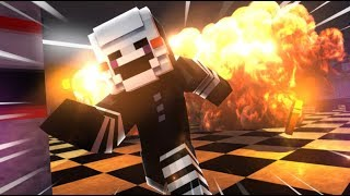 Puppet Master Destroys FNAF 1 - (Minecraft FNAF Roleplay)