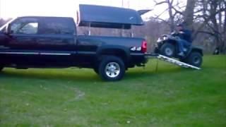 ATV Loading | TopperLift | Power Raising Truck Topper