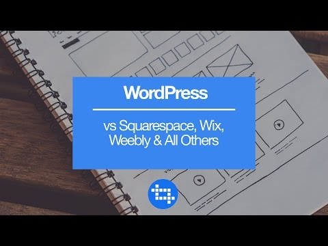WordPress vs Squarespace, Wix, Weebly & All Others
