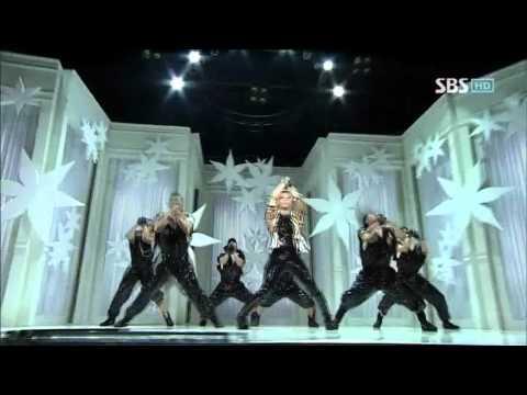 BoA - Hurricane Venus (보아 - 허리케인 비너스) @ SBS Inkigayo 인기가요 100815