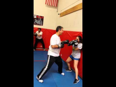 Boxing Wall drill