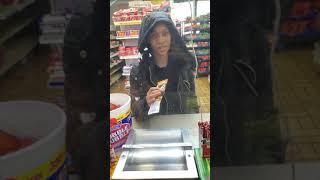 Calling Customers in the hood Fruity Names lol 😂😂