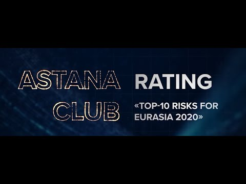 "Astana Club presents rating ""Top 10 risks for Eurasia 2020"""