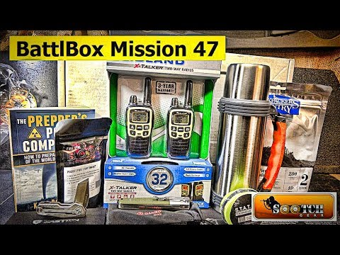 Battlbox Mission 47 Box Opening and Testing