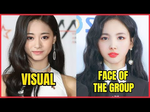 VISUAL vs FACE OF THE GROUP IN KPOP GIRLS GROUP
