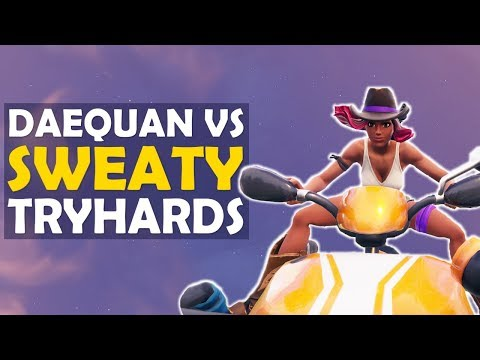 QUADCRASHER IS OP | DAEQUAN VS SWEATY TRYHARDS | HIGH KILL FUNNY GAME - (Fortnite Battle Royale)