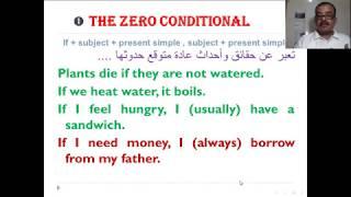 شرح حالات قاعدة If الشرطية في اللغة الانجليزية Conditional Clauses