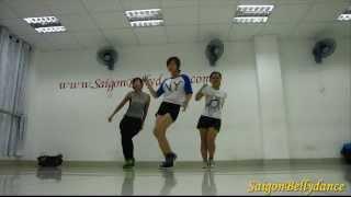 Con Bướm Xuân (Hồ Quang Hiếu), Girls Style Hiphop Ms. Puna, SaigonBellydance