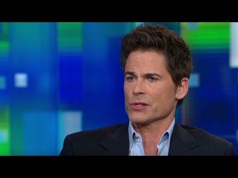 Rob Lowe: Guns part of U.S. formation - YouTube