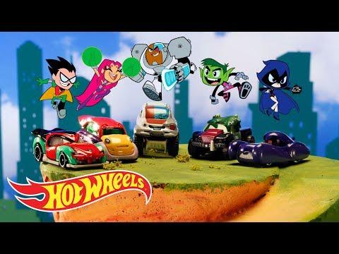 Hot Wheels® TEEN TITANS GO!™ Character Cars™ | Hot Wheels