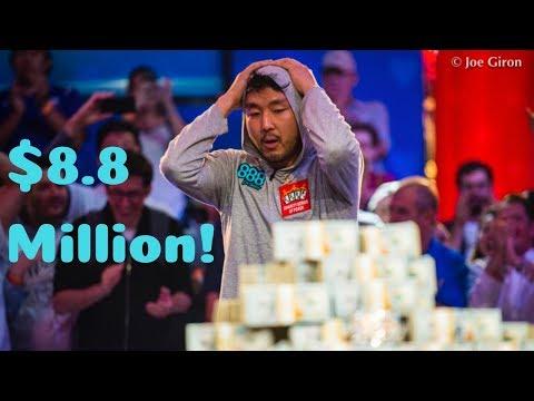 John Cynn Wins 2018 WSOP Main Event for $8,800,000 - poker