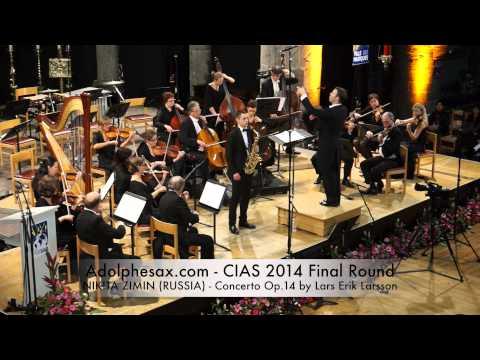 NIKITA ZIMIN RUSSIA Concerto Op 14 by Lars Erik Larsson