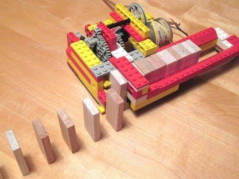 Maszyna do układania domina