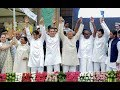 Opposition show of strength at oath taking ceremonies; all eyes on Mayawati-Akhilesh