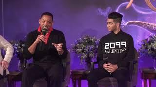 Aladdin - Paris press conference