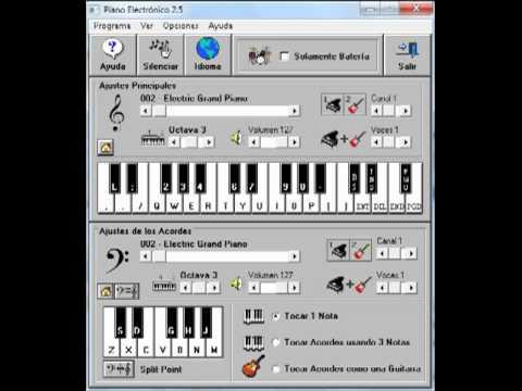 Nestor en Bloque - Yo Mañana Piano electronico 2.5