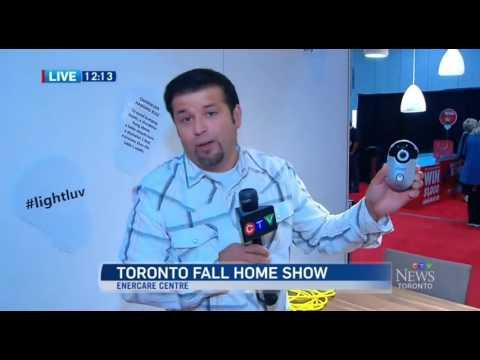 CTV News at Noon at the 2016 Toronto Fall Home Show  clip 1