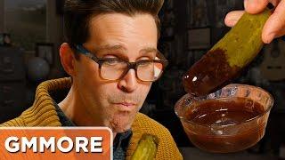 Chocolate Dipped Pickles Taste Test