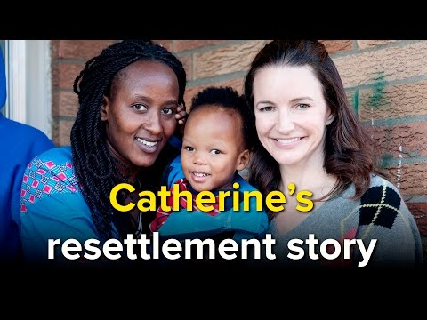 From DRC to Kentucky: Kristin Davis tells Catherine's resettlement story