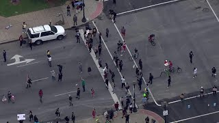 Protesters gather in downtown Louisville