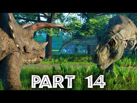 Jurassic World Evolution Gameplay Walkthrough Part 14 - WHAT DINOSAURS GET ON ???