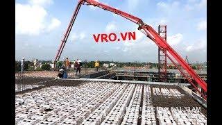 Thi công Công nghệ xây dựng sàn nhịp lớn, sàn không dầm, móng trên nền đất yếu 3D PANEL VRO